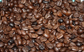 Picture brown, beans, coffee, roasted, caffeine