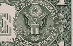 Picture lines, eagle, dollar, paper, numbers, ink