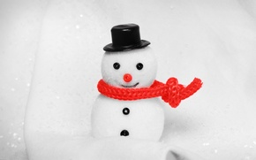 Picture white, toy, snowman
