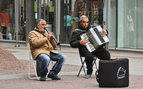 Picture music, people, street