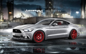 Picture Mustang, Ford, power, Juggernaut, yasiddesign