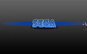 Picture blue, hedgehog, game, blue, speed, sega, Sega, sonic