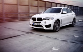 Picture White, BMW, Tuning, AC Schnitzer, X6 M