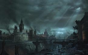 Picture England, London, devastation, ruins
