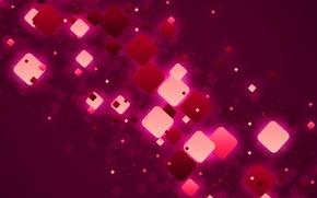 Wallpaper light, Wallpaper, design, structure, cube, square