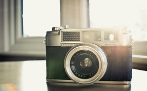 Picture camera, background, Yashica Minister