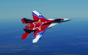 Wallpaper Earth, The sky, Height, Flight, The MiG-29, Fighter, Multipurpose