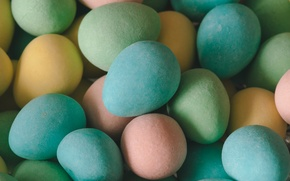 Picture color, Easter, eggs