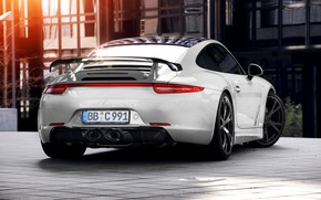 Picture 911, light, porsche, tuning, Techart, building, carrera 4