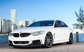 Picture BMW, White, 435i, M-Sport