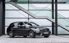 Picture Mercedes-Benz, Mercedes, AMG, Sport, AMG, Benz, Estate, 2015, S205, C 450