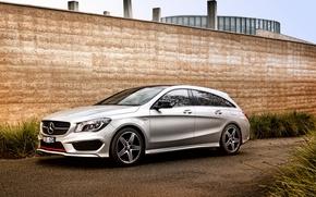 Picture wall, Mercedes-Benz, Mercedes, Sport, universal, Shooting Brake, AU-spec, 4MATIC, 2015, X117, CLA 250