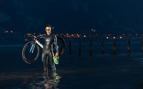 Picture bike, sport, mountain bike, cyclist, photographer Ronny Kiaulehn