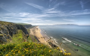 Picture beach, ireland, atlantic ocean, benone
