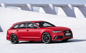 Picture Audi, Before, RS6, 2015