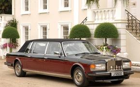 Picture machine, car, luxury, Rolls Royals, Rolls Royce Silver Spirit