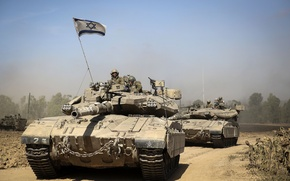 Picture tank, combat, main, Merkava, Israel, Mk 3D