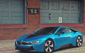 Picture bmw, blue