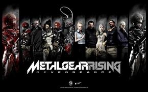 Picture fan art, Raiden, Sundowner, Monsoon, Samuel Rodrigues, metal gear rising revengeance, jack the ripper, Blade …