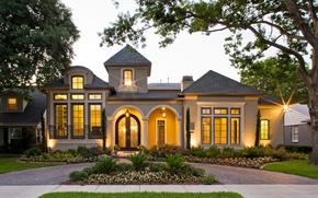 Picture Villa, the evening, architecture, exterior