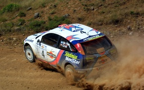 Picture ford, rally, wrc, focus, martini, Colin McRae