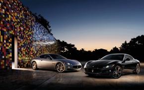 Picture two, maserati, car, Maserati, granturismo, autowalls