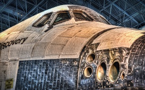 Picture Discovery, Washington, Space Shuttle, Smithsonian Air and Space Museum