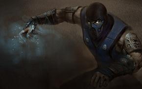 Picture mask, ninja, art, Mortal Kombat, Sub-Zero, Kuai Liang