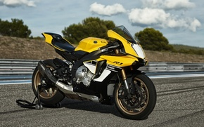 Picture Yamaha, Moto, Track, Superbike, 2016, Sportbike