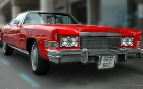 Picture Red, Cadillac, the Wallpaper