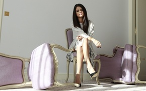 Picture women, women, models, Selena Gomez, models