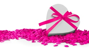 Picture heart, tape, hearts, love, bow, heart, romantic, Valentine's Day