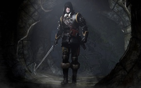 Wallpaper the Witcher, The Witcher, Geralt of Rivia, CD Projekt RED, The Witcher 3: Wild Hunt, ...