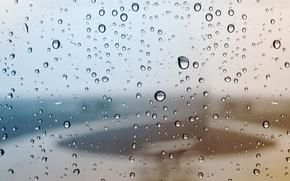 Picture glass, water, drops, macro, background, rain, Windows, drop, window, rains, glass