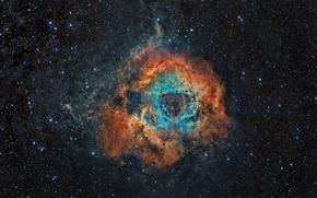 Picture stars, galaxy, nebula