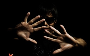 Wallpaper hands, trance, glasses, house, Temny background, musician, palm, music, black, Matt Darey, TRANS, music producer, ...