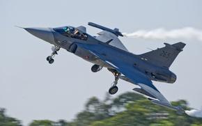 Picture fighter, the rise, multipurpose, Gripen, JAS 39