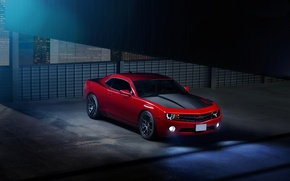Picture red, Chevrolet, Camaro, red, Chevrolet, muscle car, muscle car, Camaro