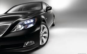 Picture machine, auto, half, headlight, lexus, beautiful, sedan, Lexus, hybrid, 2007, long, лс600, ls600hl, long