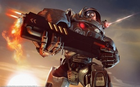 Picture CG Wallpapers, Space Marines, Florian Renner, Gun, Stardust, Fighter