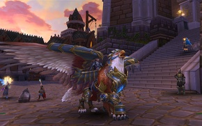 Picture the game, Griffin, Allods Online, mount