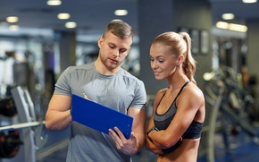 Wallpaper fitness, gym, coach, training, routine, results, planning, healthy life, regularity, Schedule, healthy mind