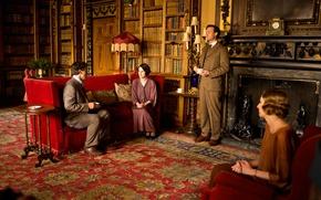 Picture interior, frame, the series, drama, Downton Abbey