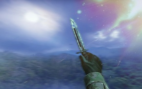 Picture CSGO, KNIFE, STAINED, BAYONET, KNIVE