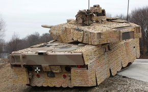 Picture tank, armor, military equipment, Leopard 2A7+