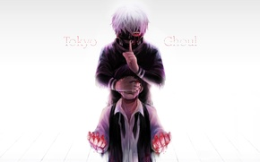 Picture background, blood, mask, tears, guy, gesture, anime, art, red eye, Tokyo ghoul, Tokyo Ghoul, Ken …