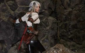 Picture cosplay, The Witcher 3: Wild Hunt, Cosplay, The Witcher 3: Wild Hunt, CRIS, Ciri, Cirilla