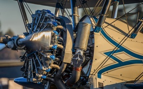 Picture aviation, engine, the plane, motor