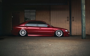 Picture tuning, profile, red, Honda, Accord, red, Honda, chord, stance