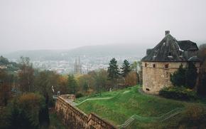Picture fog, Germany, Marburg
